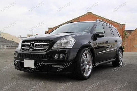 Mercedes - Benz - GL450 - LED - daytime - running - lights - 5